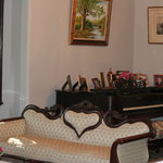 Piano in the parlor