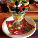  Fruit presentation (second breakfast)