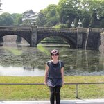 Great Tokyo Cycling Tour, Route A, at the Imperial Palace