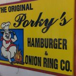 The Porky's sign