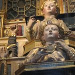 Reliquaries with saint's remains