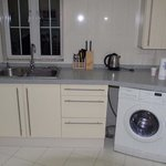  Kitchen Area with Clothes Washer