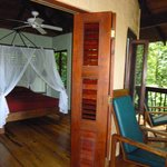  Our deck and room