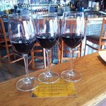 Great flights of wines and knowledgeable (patient) staff to help you decide!