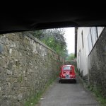  Some of the narrow streets you will drive on
