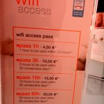  Wifi cost
