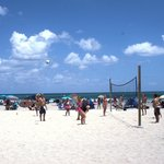 Volleyball on Hollywood Beach