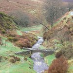 The beautiful Goyt Valley, a very short drive from Harrop Fold Farm.