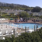  Outdoor pool in May