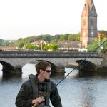 Fishing on the River Moy