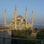  View from roof terrace- Blue Mosque