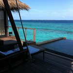 Beach House Maldives terrace ocean villa