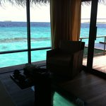 Beach House Maldives imside ocean villa
