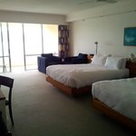  Twin coral sea view room