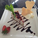 try the cheese cake...