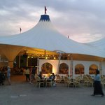 The Big Top for evening entertainment