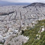  Athens. From the hills/mounts.