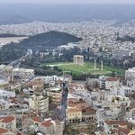 Athens from the hills.