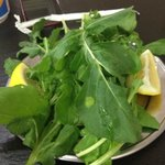 Rucola with Lemon