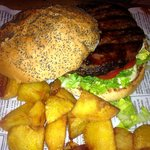  Hamburger Japonesa and Rustic Fries