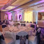 Our Ballroom all set for a wedding