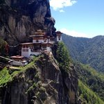 Perfect location to trek up to the Tiger's Nest from