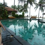 Pool and beach areass