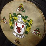 family Crests hand painted to order.  drop by   open 7 days 10.00 am to 6.30pm