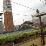  private terrace of the suite with Piazza San Marco&#39; view