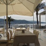  Table with view at Bodrum