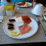 Caviar Service Club Lounge Breakfast