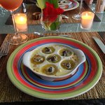 Escargot appetizer!