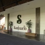 Santuario for drinks, snacks, and night time entertainment.