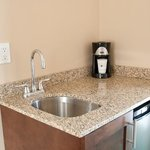 Ask about upgrading to a kitchenette guestroom / L