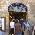 The World's Best Gelato in San Gimigiano