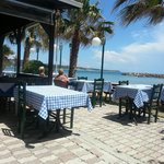  lunch time at katelios taverna