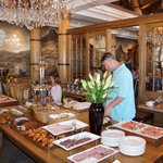 Breakfast at the Cape Grace- a fantastic choice of everything