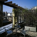  K+K Hotel Maria Theresia, Vienna, Terrace