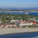  Full panoramic of Coronado, Beach Village and The Del.