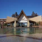 The beautiful main pool of the Lopesan Baobab