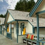  Historic 1912 Cabins at Waterfall Resort Alaska