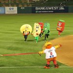  Where else are you going to see a tortilla, taco and peppers race!?