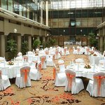 Grand Courtyard Atrium  Wedding Setup