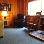  Quiet corners in Cabin 7 - perfect for a great book - whether that be the paper kind or an e-boo