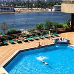 Swimming Pool overlooking the Nile River