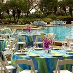 Outdoor Pool Reception