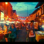  Jonkers Walk at dusk as the night markets awaken