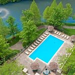 Outdoor Pool and Lake