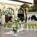  Terrace Garden - Wedding Setup