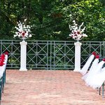 Patio Wedding Ceremony
